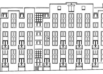 EX 71-110 Amsterdam, Nieuwe Herengracht