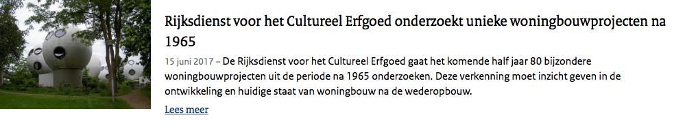 Persbericht-Rijksdienst-voor-Cultureel-Erfgoed